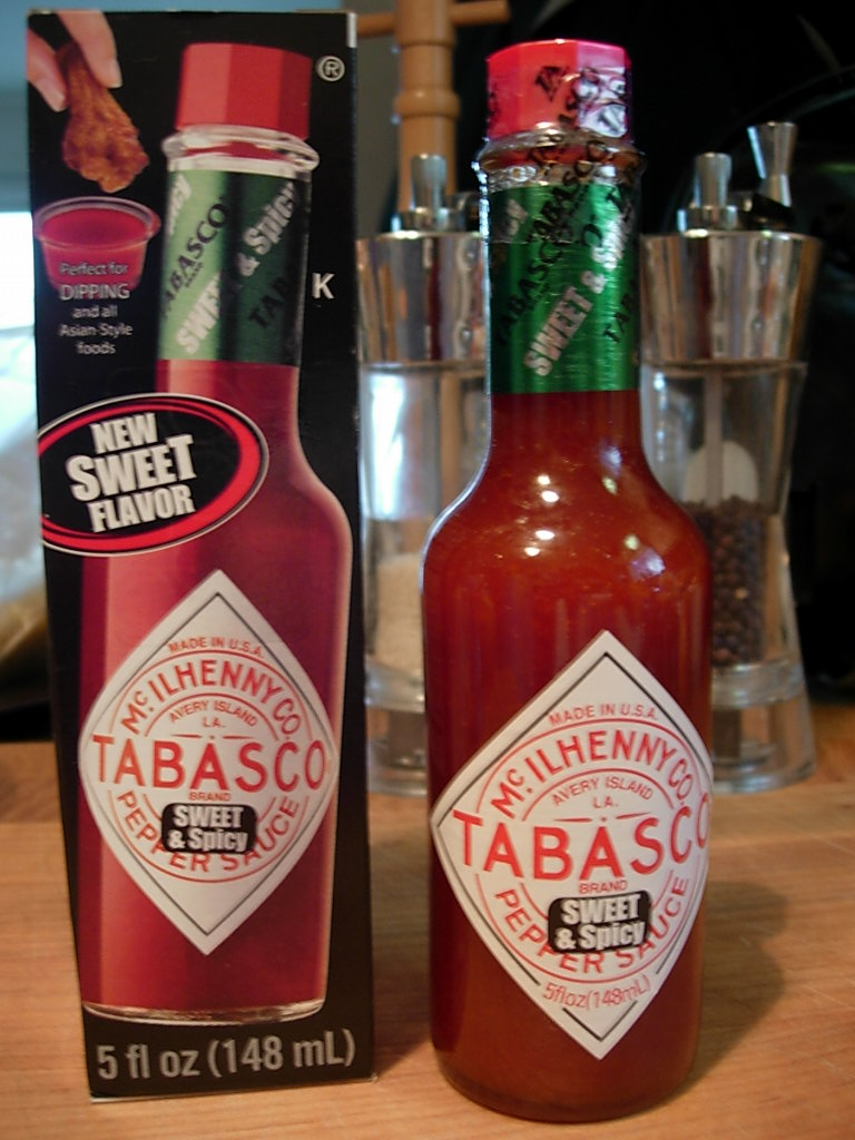 New Tabasco Sauce Flavor Sweet & Spicy Dipping Sauce