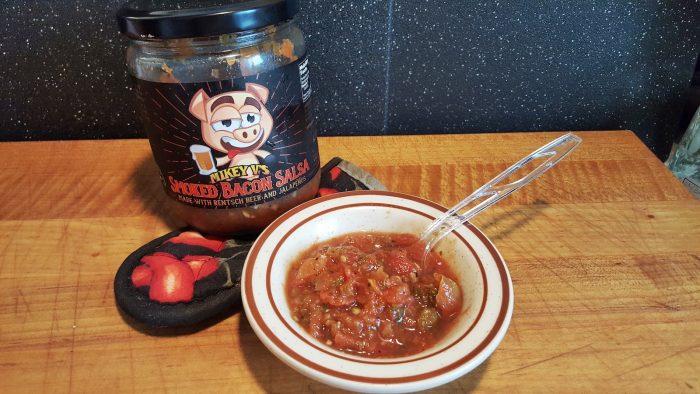 mikey v's bacon salsa